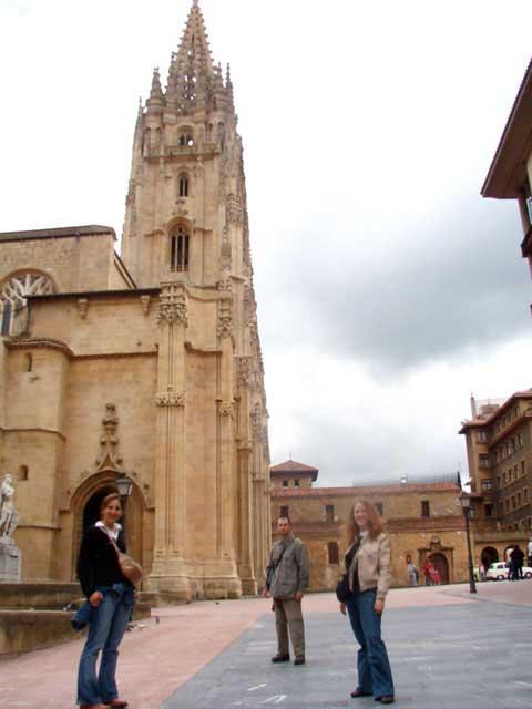 Camino a la catedral